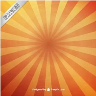 Grunge Sunburst Background Free Vector