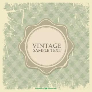 Grunge Vintage Frame Free Vector