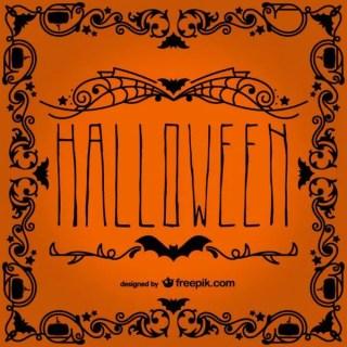 Halloween Typography Free Vector
