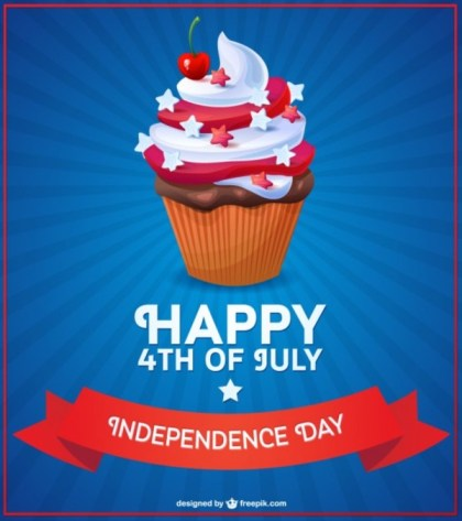 Happy 4Th of July Free Vector