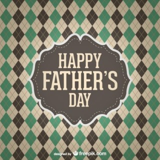 Happy Father's Day Free Graphic Free Vector