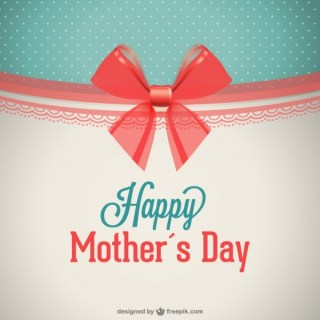 Happy Mother's Day Design Free Free Vector