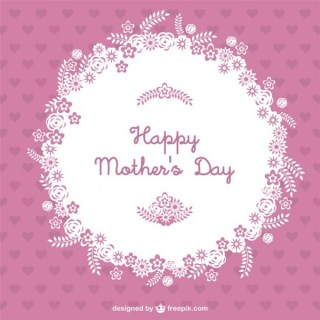 Happy Mother's Day Free Vector