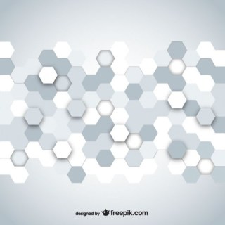 Hexagonal Mosaic Free Vector