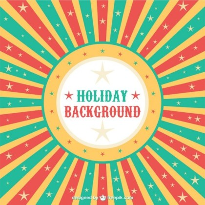 Holiday Web Background Free Vector