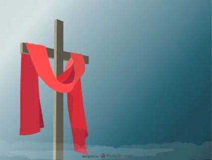 Holy Cross Illustration Free Vector