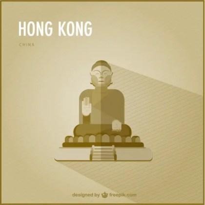 Hong Kong Landmark Free Vector