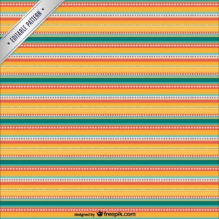 Horizontal Strippes Pattern Free Vector