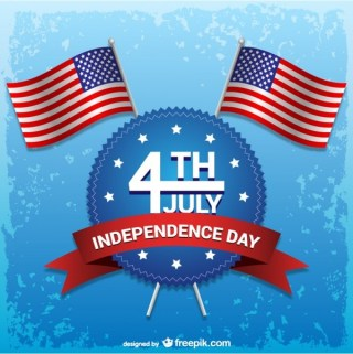 Independence Day 4Th of July Free Vector