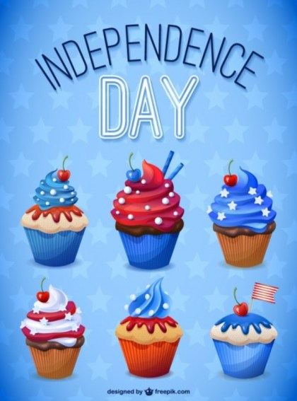 Independence Day Illustration Free Vector