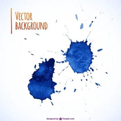 Ink Splash Background Free Vector