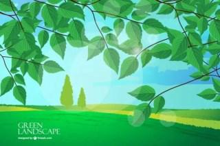Landscape Background Image Free Vector
