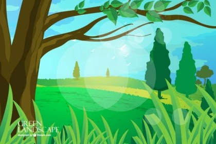 Landscape Download Free Vector