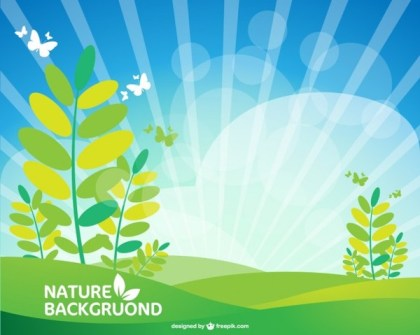 Landscape Free Wallpaper Free Vector