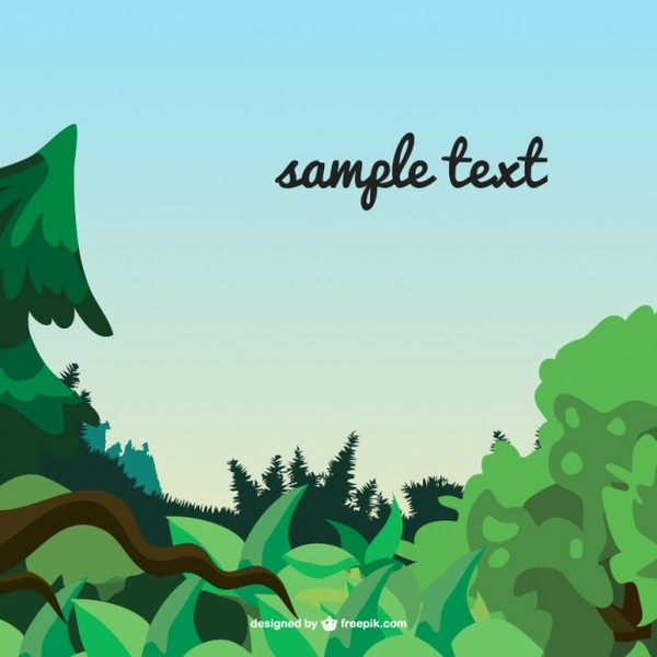 Leaves Free Template Free Vector
