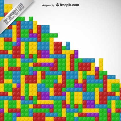 Lego Background Free Vector