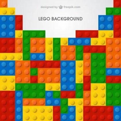 Lego Blocks Background Free Vector