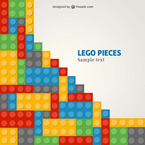 Lego Template Free Vector