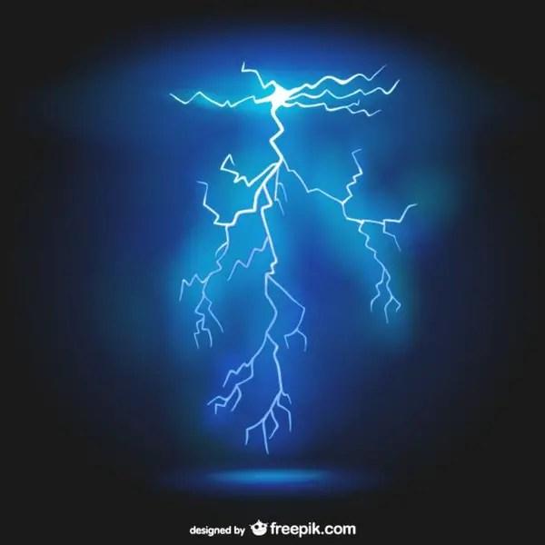 Lightning Background Free Vector
