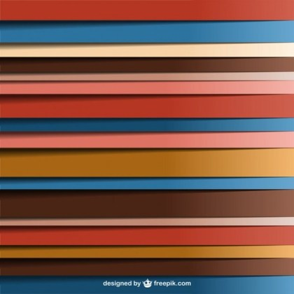Lines Abstract Retro Background Free Vector