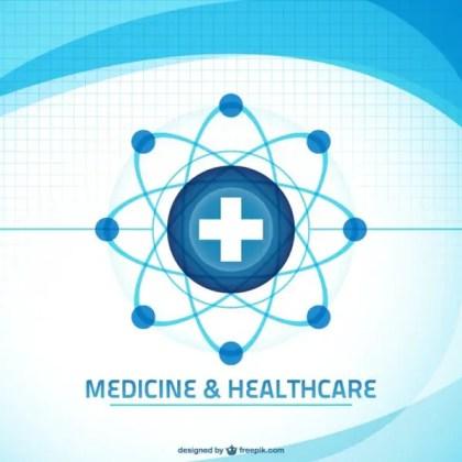 Medical Background Art Free Vector