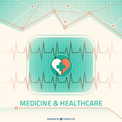 Medical Background Free Vector