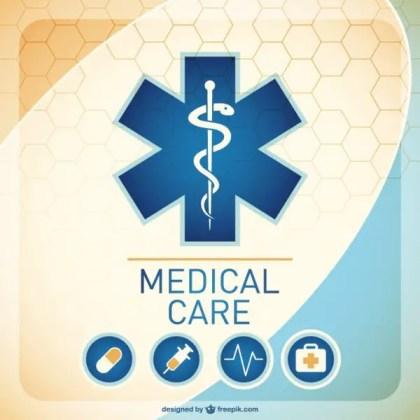 Medical Background Illustration Free Vector