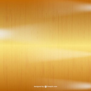 Metallic Gold Background Free Vector