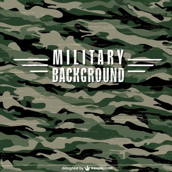 Military Camouflage Texture Free Vector