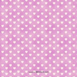 Minimalist Hearts Pattern Free Vector