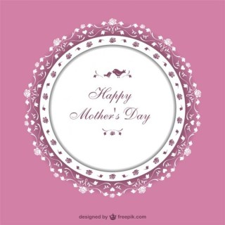 Mother's Day Art Free Vector