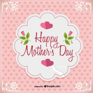 Mother's Day Free Postcard Free Vector