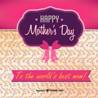 Mother's Day Printable Free for Download Free Vector