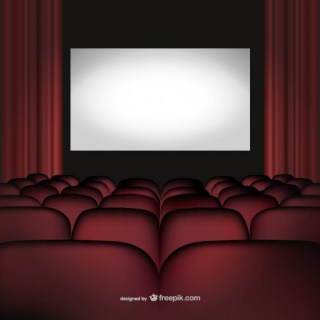 Movie Cinema Theatre Free Vector