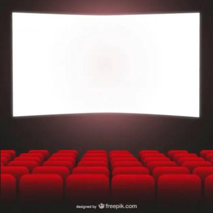 Movie Theater Art Free Vector