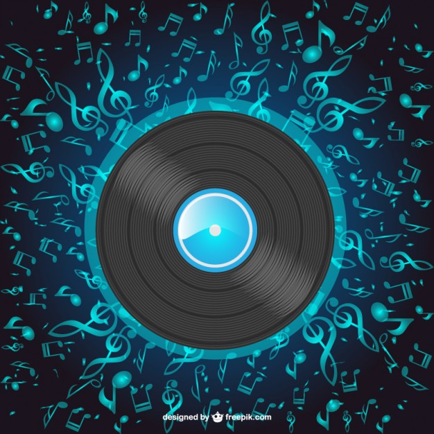 Music Disc Free Vector