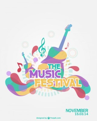 Music Festival Free Vector