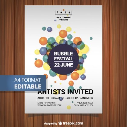 Music Festival Poster Free Download Free Vector