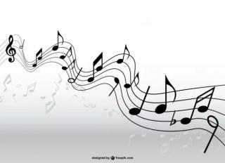 Music Pentagram Free Vector