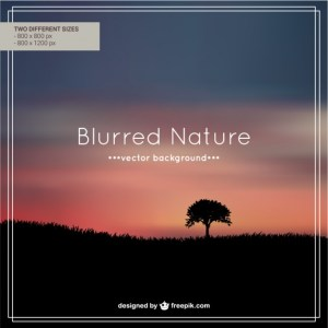Nature Evening Editable Background Free Vector