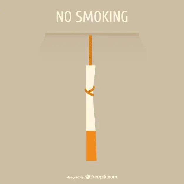 No Smoking Concept Free Vector