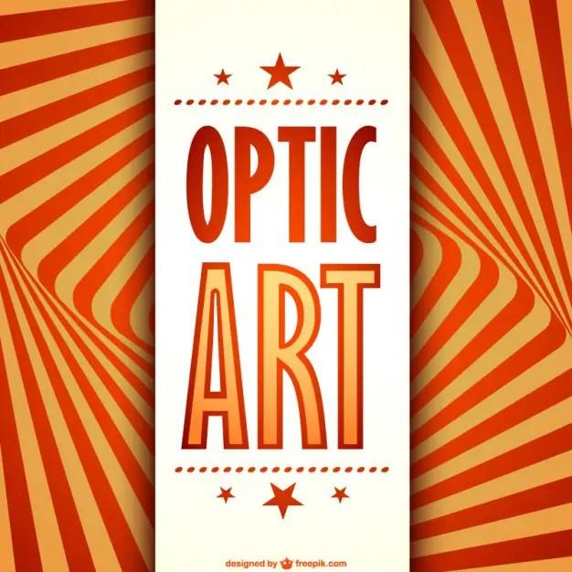 Optical Illusion Art Free Vector