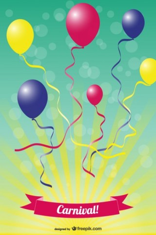 Party Design Free Vector