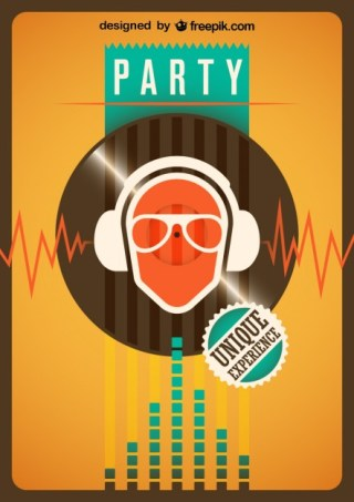 Party Illustration Free Vector