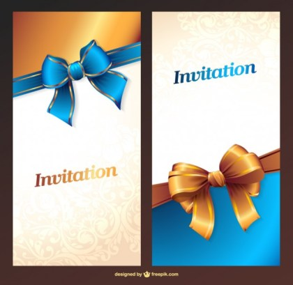 Party Invitation Free Cards Free Vector