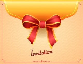 Party Invitation Free Design Free Vector