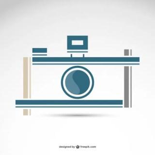 Photography Retro Camera Logo Free Free Vector