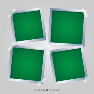 Picture Frames Set Free Vector