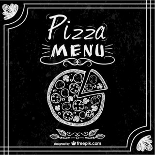 Pizza Free Restaurant Menu Free Vector