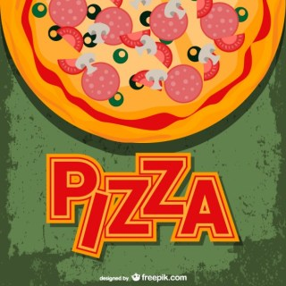 Pizza Free Template Free Vector